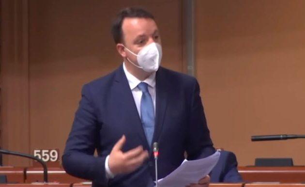 Παραβίαση των «Πρεσπών» από τους ψευδοαρχαιομακεδόνες του VMRO-DPMNE στο Συμβούλιο της Ευρώπης