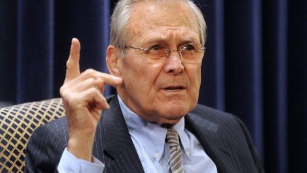 ΗΠΑ: Πέθανε ο πρώην υπουργός Άμυνας Ντόναλντ Ράμσφελντ