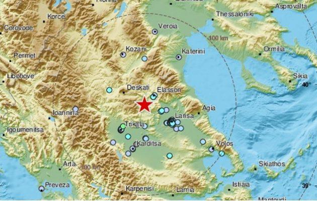 Σεισμός 4,5 Ρίχτερ στην Ελασσόνα