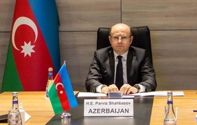 Το Αζερμπαϊτζάν «υποστηρίζει ανοιχτά» τις δραστηριότητες της Τουρκίας στην Αν. Μεσόγειο
