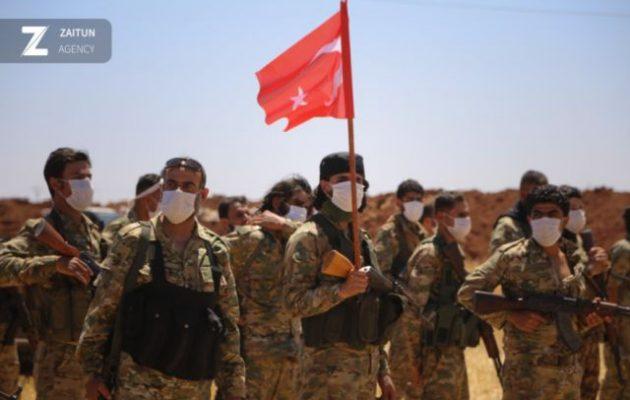 Τουρκμένοι (SNA) εθνοϊσλαμιστές του Ερντογάν ετοιμάζονται για Αφγανιστάν