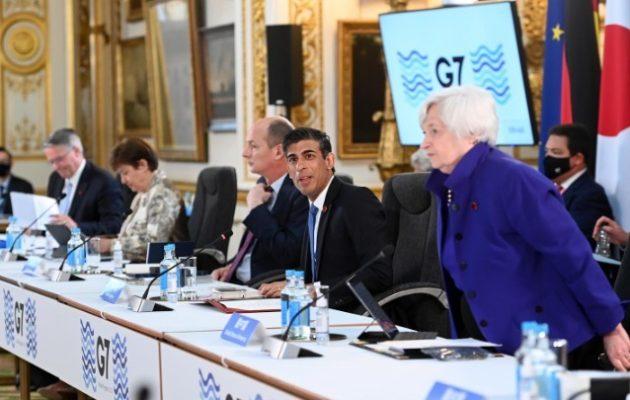 G7: Ιστορική συμφωνία για την επιβολή παγκόσμιου ελάχιστου εταιρικού φόρου 15%