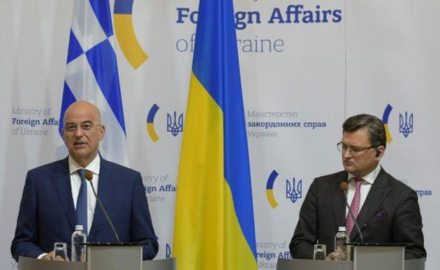 Δένδιας σε Ουκρανία: Διατήρηση των δικαιωμάτων της ελληνικής μειονότητας – Mπορούμε να γίνουμε ο ιδανικός σύμμαχος