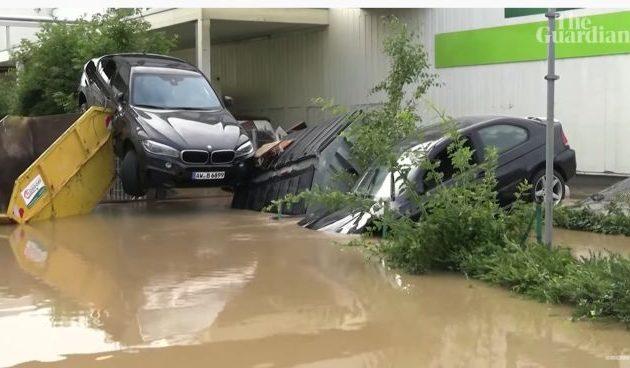 Γερμανία: Τουλάχιστον 80 νεκροί από τις πλημμύρες και εκατοντάδες αγνοούμενοι