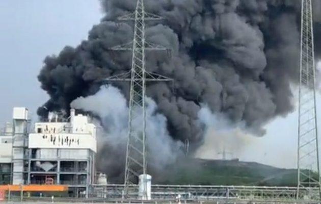 «Πολλοί τραυματίες» από την έκρηξη στο Λεβερκούζεν