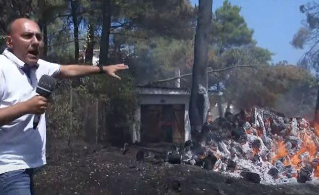 Κάηκαν σπίτια – Εμπρησμός με στόχο Σταμάτα, Διόνυσο, Δροσιά και Εκάλη