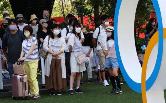 Πανδημία: Ρεκόρ κρουσμάτων στο Τόκιο όπου φιλοξενούνται οι Ολυμπιακοί Αγώνες