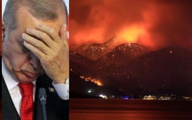 Η Ρωσία στέλνει πυροσβεστικά αεροπλάνα στην Τουρκία για να τη σώσει από τη λαίλαπα