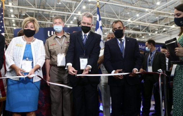 Πάιατ: Οι αμυντικοί δεσμοί Ελλάδας-ΗΠΑ είναι από τους πιο στενούς