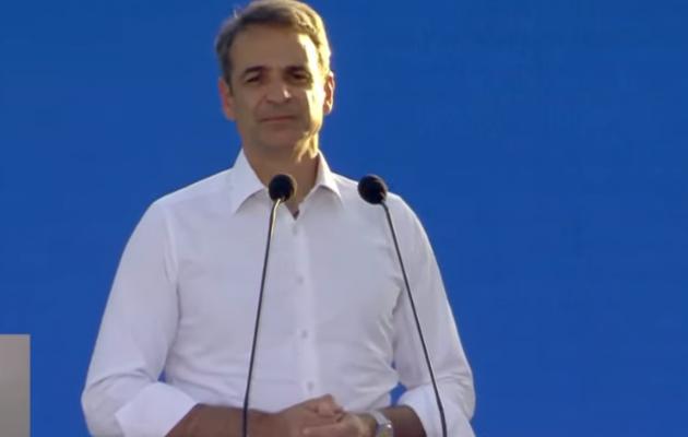 Ο Μητσοτάκης στην εκδήλωση της ΔΕΔΑ για την σύνδεση με φυσικό αέριο 6 πόλεων Αν. Μακεδονίας και Θράκης