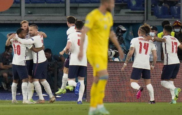 Euro 2020: Πρόκριση στους «4» για την Αγγλία 4-0 την Ουκρανία