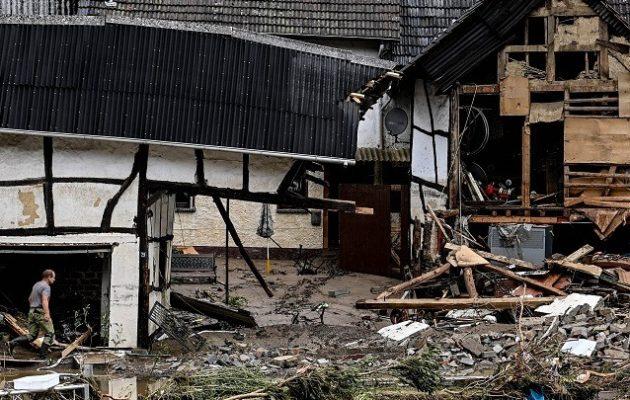 Γερμανία: 42 νεκροί από πλημμύρες