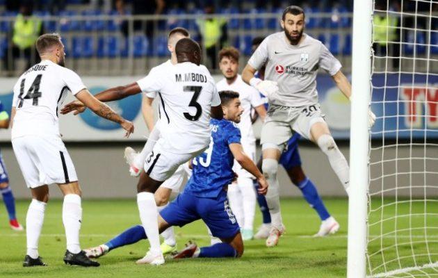 Πρόκριση με δεύτερη νίκη στο Μπακού (1-0) για τον Ολυμπιακό