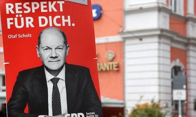 Γερμανία: Προβάδισμα 5 μονάδων των Σοσιαλδημοκρατών – Σόλτς: Συγκυβέρνηση με τους Πράσινους