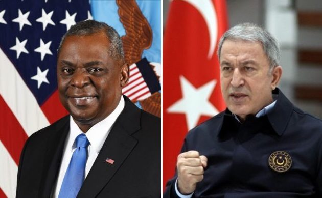 Ο υπ. Άμυνας των ΗΠΑ διαβεβαίωσε τον Ακάρ για «τη διαρκή αμυντική σχέση ΗΠΑ-Τουρκίας»