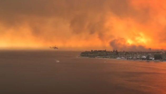 Φωτιά Ροβιές Εύβοια: Κάηκαν δεκάδες σπίτια – Πυροσβέστες στο νοσοκομείο με εγκαύματα