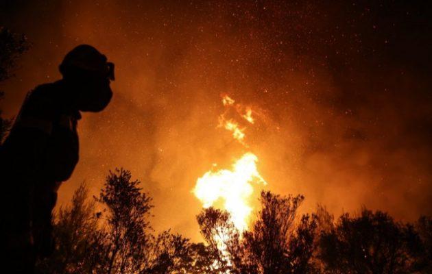 Ντοκουμέντο: Πώς ξεκίνησε η φωτιά που έκαψε τη Βαρυμπόμπη (βίντεο)