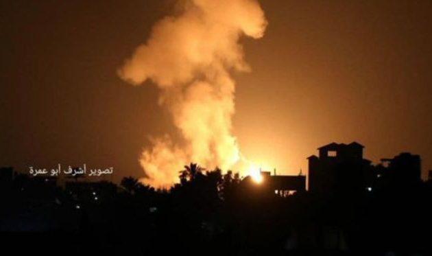 Το Ισραήλ βομβάρδισε θέσεις των τρομοκρατών της Χαμάς στη Γάζα