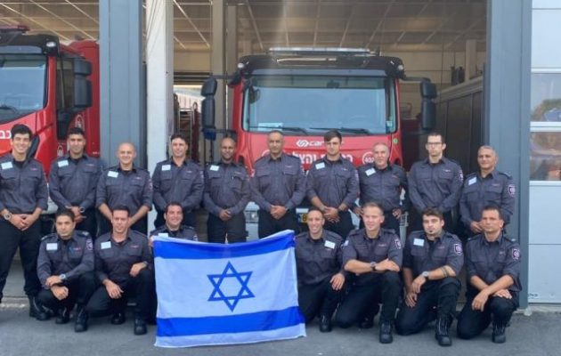 Το Ισραήλ στέλνει πυροσβέστες – Λαπίντ: «Το Ισραήλ προστρέχει στο πλευρό της Ελλάδας»