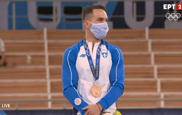 Χάλκινος Ολυμπιονίκης ο Λευτέρης Πετρούνιας για «ένα μικρό βηματάκι»
