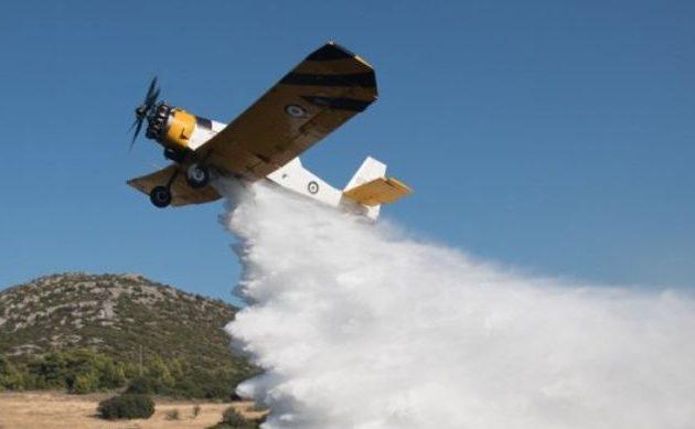 Κατέπεσε πυροσβεστικό πετζετέλ (PZL) στη Ζάκυνθο – Καλά στην υγεία του ο πιλότος