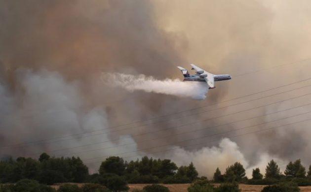 Ρωσική πρεσβεία: Στηρίζουμε τους Έλληνες στις δύσκολες μέρες των πυρκαγιών