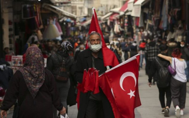 Τουρκία: 213 νέοι θάνατοι και 26.398 νέα κρούσματα σε ένα 24ωρο