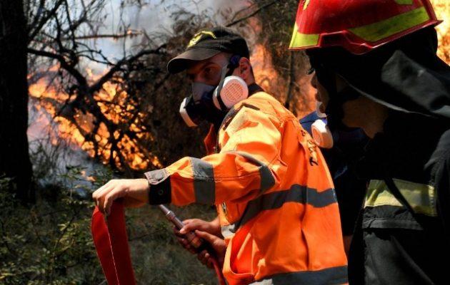 Φωτιά στη Ρόδο: Χωρίς ηλεκτρικό ρεύμα – Εκκενώθηκαν περιοχές – Μήνυμα από το 112