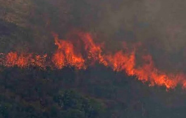 Ρόδος: Αναζωπυρώσεις της φωτιάς – Εκκενώθηκε το χωριό Μαριτσά
