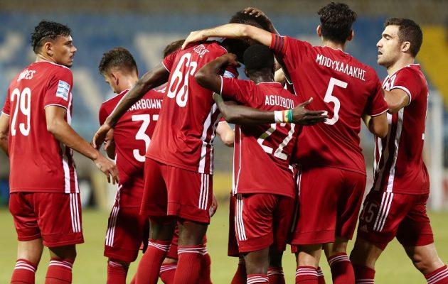 Ολυμπιακός: Πέρασε νικηφόρα (2-1) από τη Λαμία