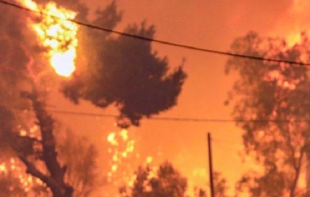 Πέθανε εγκαυματίας από την καταστροφική πυρκαγιά στη Βαρυμπόμπη