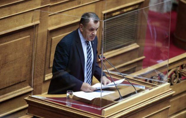 Παναγιωτόπουλος: Θέλουμε αμυντικό αποτύπωμα και έξω από τα όρια της χώρας – Τι είπε για Τουρκία