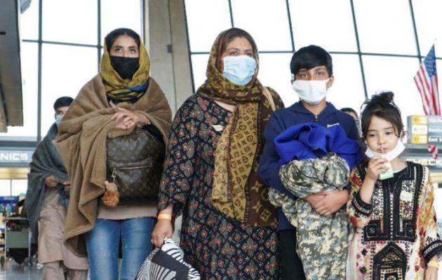 Ανεστάλησαν οι πτήσεις που μεταφέρουν Αφγανούς στις ΗΠΑ λόγω ιλαράς