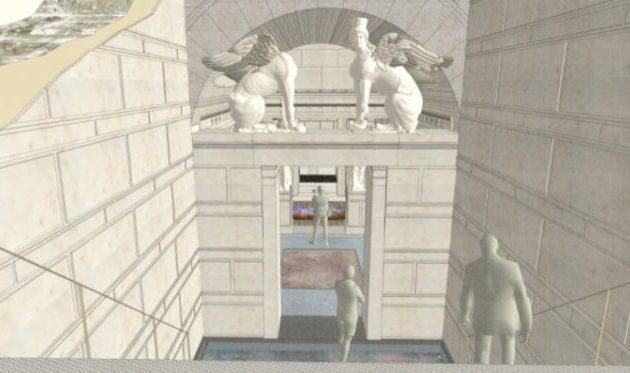 Αμφίπολη: Ο Τύμβος Καστά αποκαλύπτεται όπως ήταν και όπως θα είναι (βίντεο)