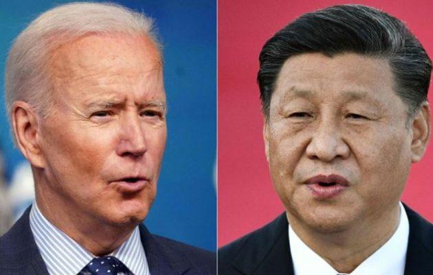 Τηλεφωνική συνομιλία Τζο Μπάιντεν με Σι Τζινπίνγκ: «Να διαχειριστούμε υπεύθυνα τον ανταγωνισμό»