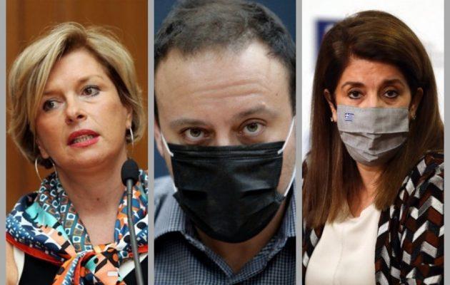 Σύγχυση στο υπουργείο Υγείας για την πορεία της πανδημίας