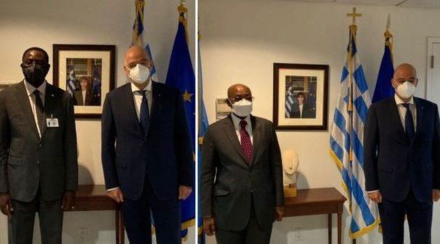 Νίκος Δένδιας: Η διαρκής επαφή με τις χώρες της υποσαχάριας Αφρικής αφορά την Ελλάδα