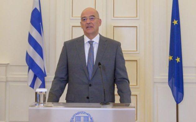 Δένδιας: Εθνικός στόχος μια οικουμενική Ελλάδα – «Να ξεφύγουμε από ένα βαλκανικό τουρκο-κεντρικό επαρχιωτισμό»
