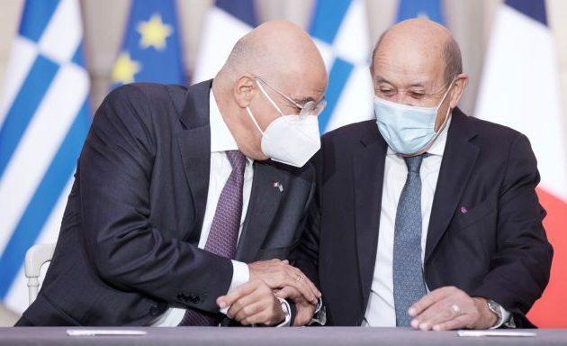 Δένδιας: Με την ελληνο-γαλλική συμφωνία «η Ελλάδα πρωταγωνιστεί»