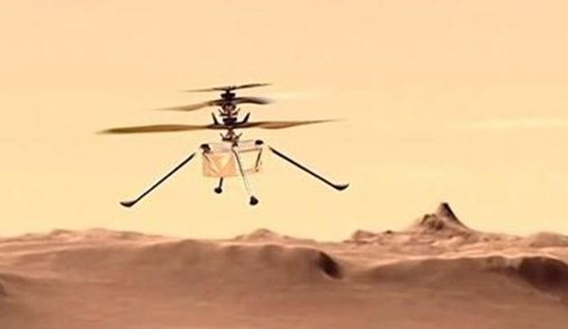Οι εποχές του Άρη δεν αφήνουν το ντρόουν της NASA να πετάξει