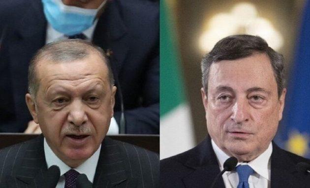 Ο Ντράγκι μίλησε με Ερντογάν στο τηλέφωνο – Τον είχε αποκαλέσει «δικτάτορα»