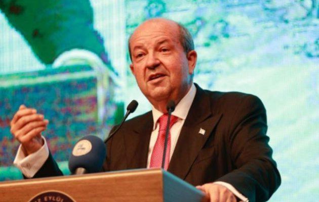 Ερσίν Τατάρ: Ολόκληρη η Κύπρος πρέπει να μεταβιβαστεί στην Τουρκία