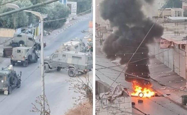 Συγκρούσεις Ισραηλινών στρατιωτών και τρομοκρατών της Χαμάς στη βόρεια Δυτ. Όχθη