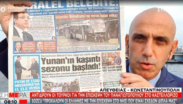 Πρέπει να παίρνουμε «άδεια» από τους Τούρκους για να πατάμε σε ελληνικό έδαφος;