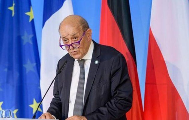 Λε Ντριαν: Οι Ταλιμπάν ψεύδονται – Η Γαλλία δεν θα έχει οποιαδήποτε σχέση με την κυβέρνησή τους