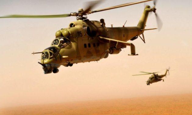 Συνετρίβησαν δύο ελικόπτερα του Λιβυκού Εθνικού Στρατού (LNA)