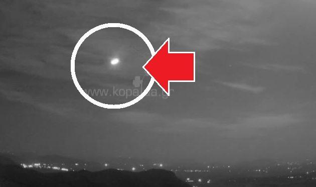 Μετεωρίτης πάνω από την Ελλάδα έκανε τη νύχτα ημέρα (βίντεο)