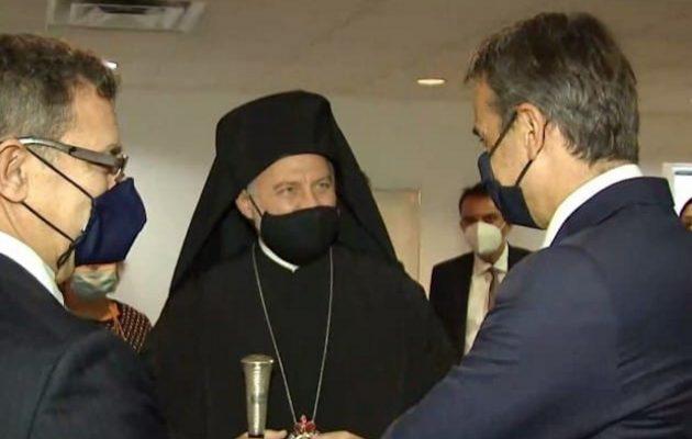 Ραντεβού Mητσοτάκη – Ελπιδοφόρου: «Λήξαν το θέμα – Προέχει η ενότητα του Ελληνισμού»