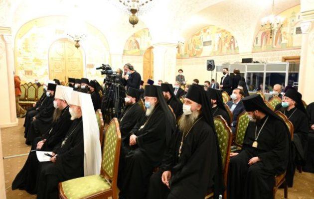 Έλληνες μητροπολίτες από Κύπρο και Ιεροσόλυμα σε ρωσικό συνέδριο ενάντια στο Οικ. Πατριαρχείο