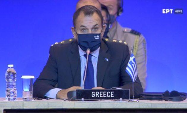 Διάσκεψη ΝΑΤΟ στην Αθήνα: Τη γεωστρατηγική σημασία της Ελλάδας ανέδειξαν Παναγιωτόπουλος και Φλώρος